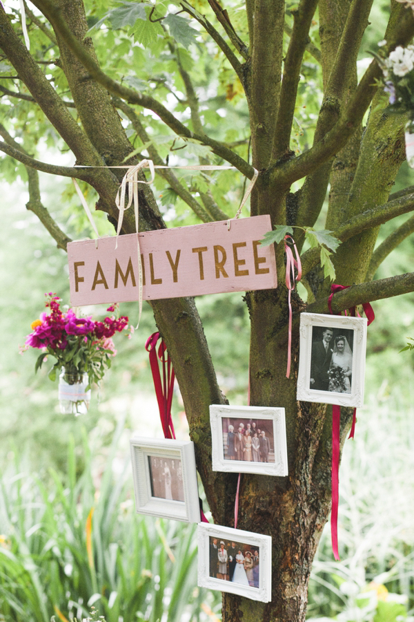 Family Tree Wedding Decor