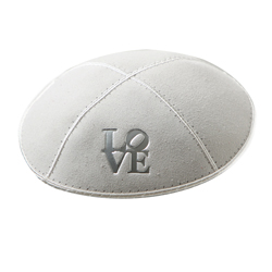 love monogram kippah
