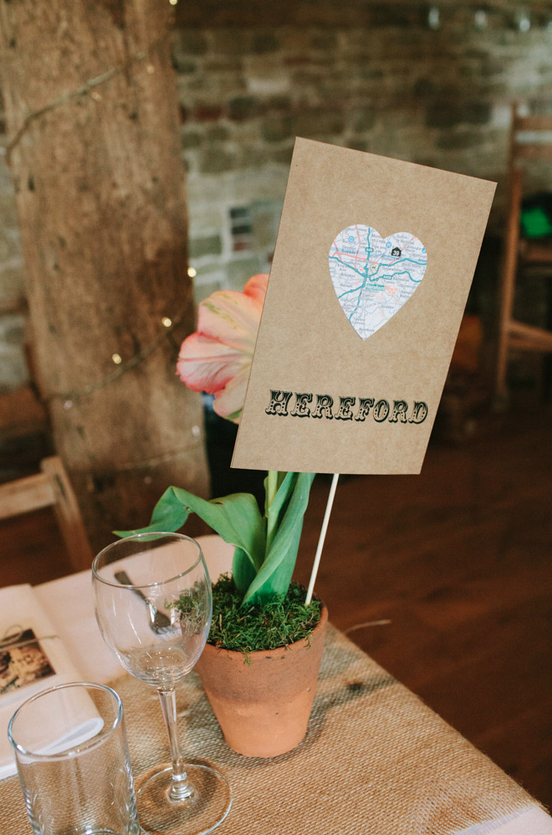 Send your guests a little packet of seeds with their invitations. Ask them to grow the flowers and bring them along on your big day