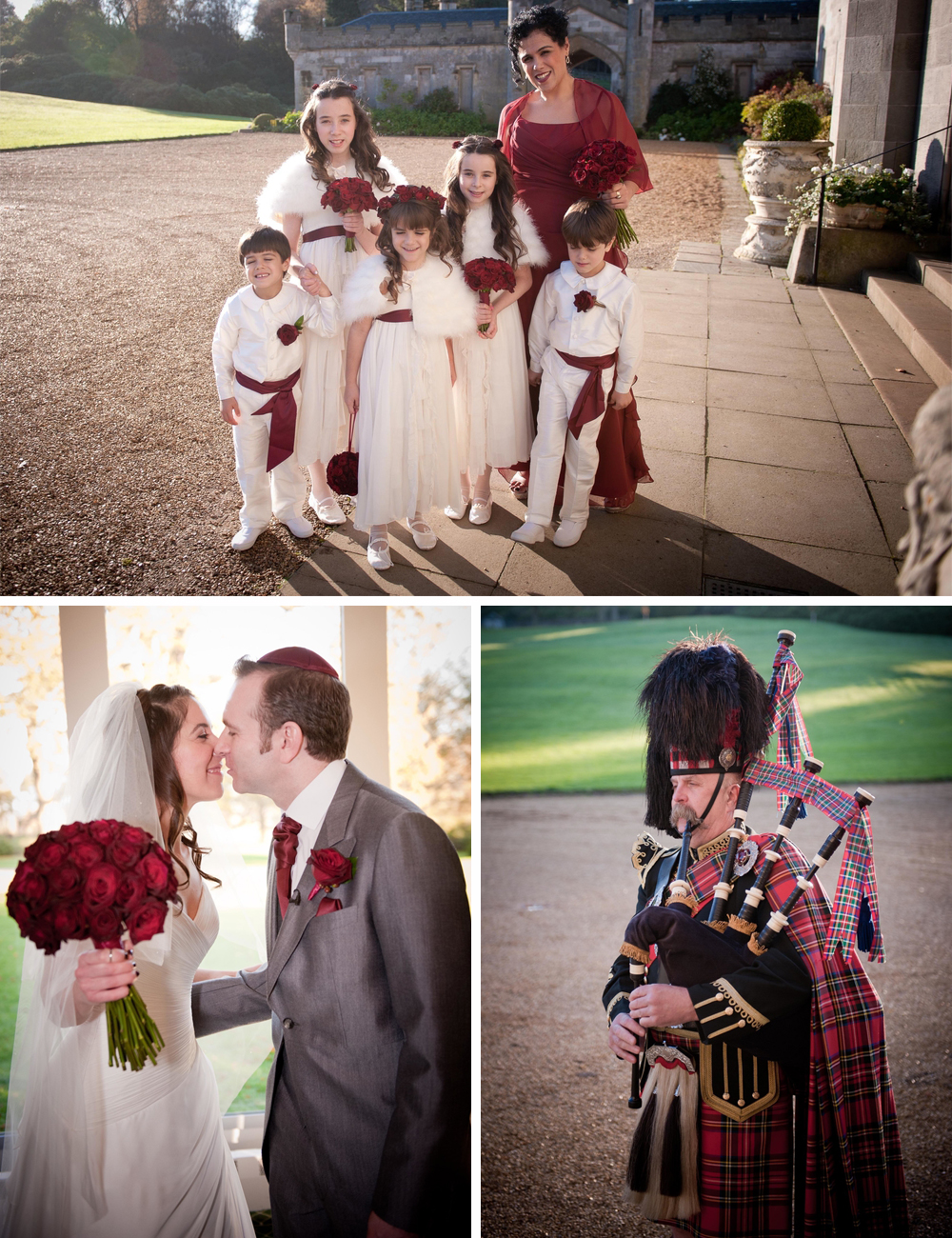 SCOTTISH CASTLE JEWISH WEDDING G
