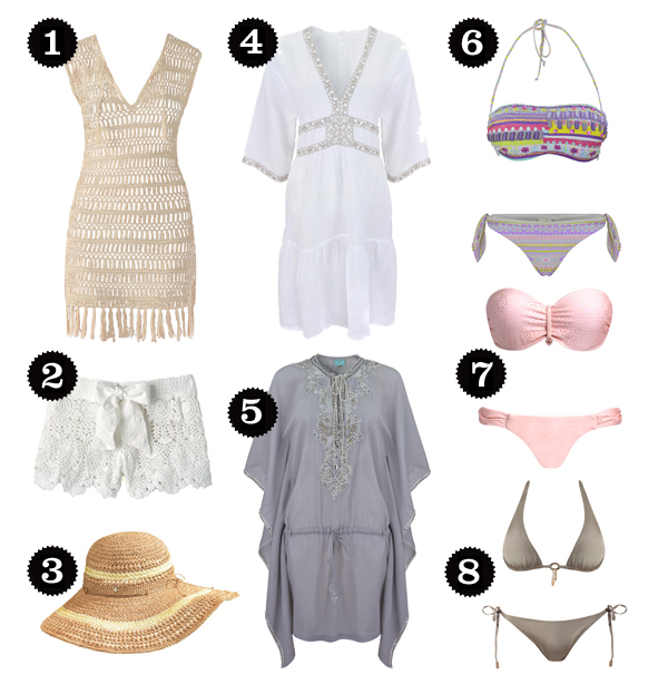 Honeymoon Wardrobe from Beach Cafe 1