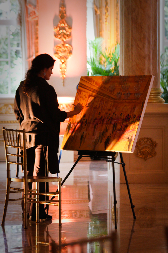 Live Event Artist Painting