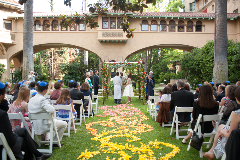 PASADENA JEWISH WEDDING 24
