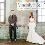 Madalyn & Aaron | Ultra-Creative and Chic Jewish Wedding at The Metropolitan Building, New York, USA