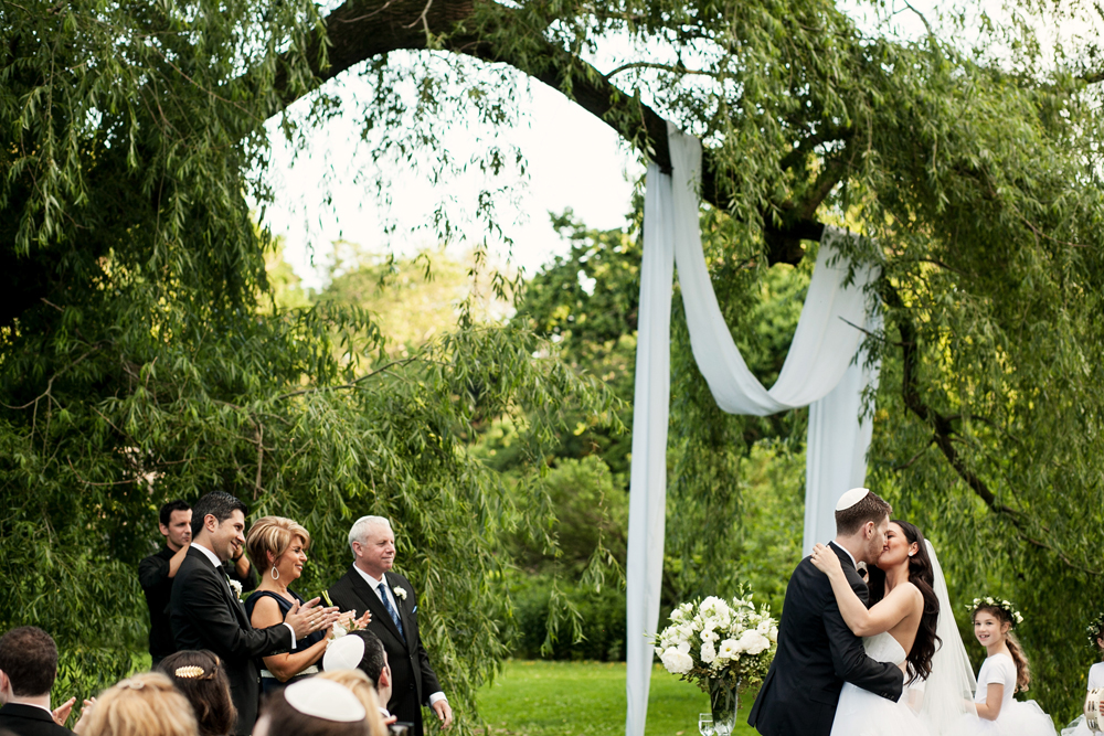 Jewish Greek Wedding at Brooklyn Botanical Garden New York 69