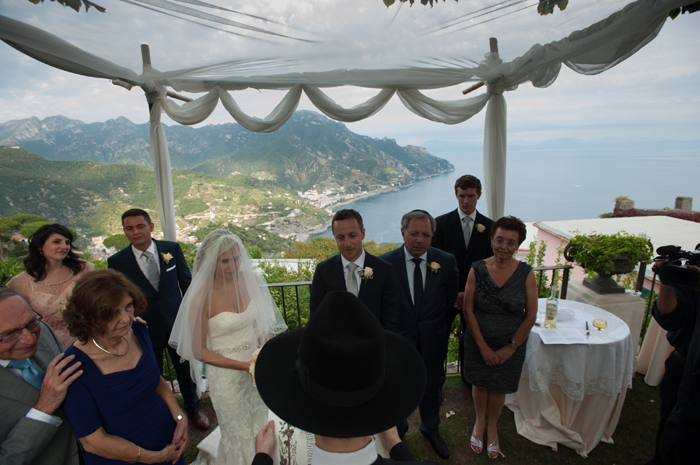 Ravello Amalfi Jewish Wedding 73