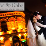 Lauren & Gabe | Super Luxe City Chic Jewish Wedding at The Waldorf, Aldwych, London