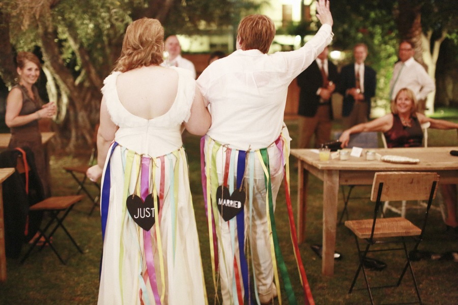 Music-themed Jewish wedding at Casa Cody Palm Springs California 46