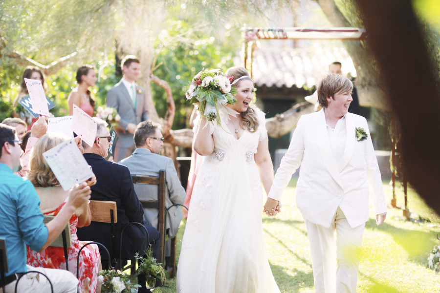 Music-themed Jewish wedding at Casa Cody Palm Springs California 96