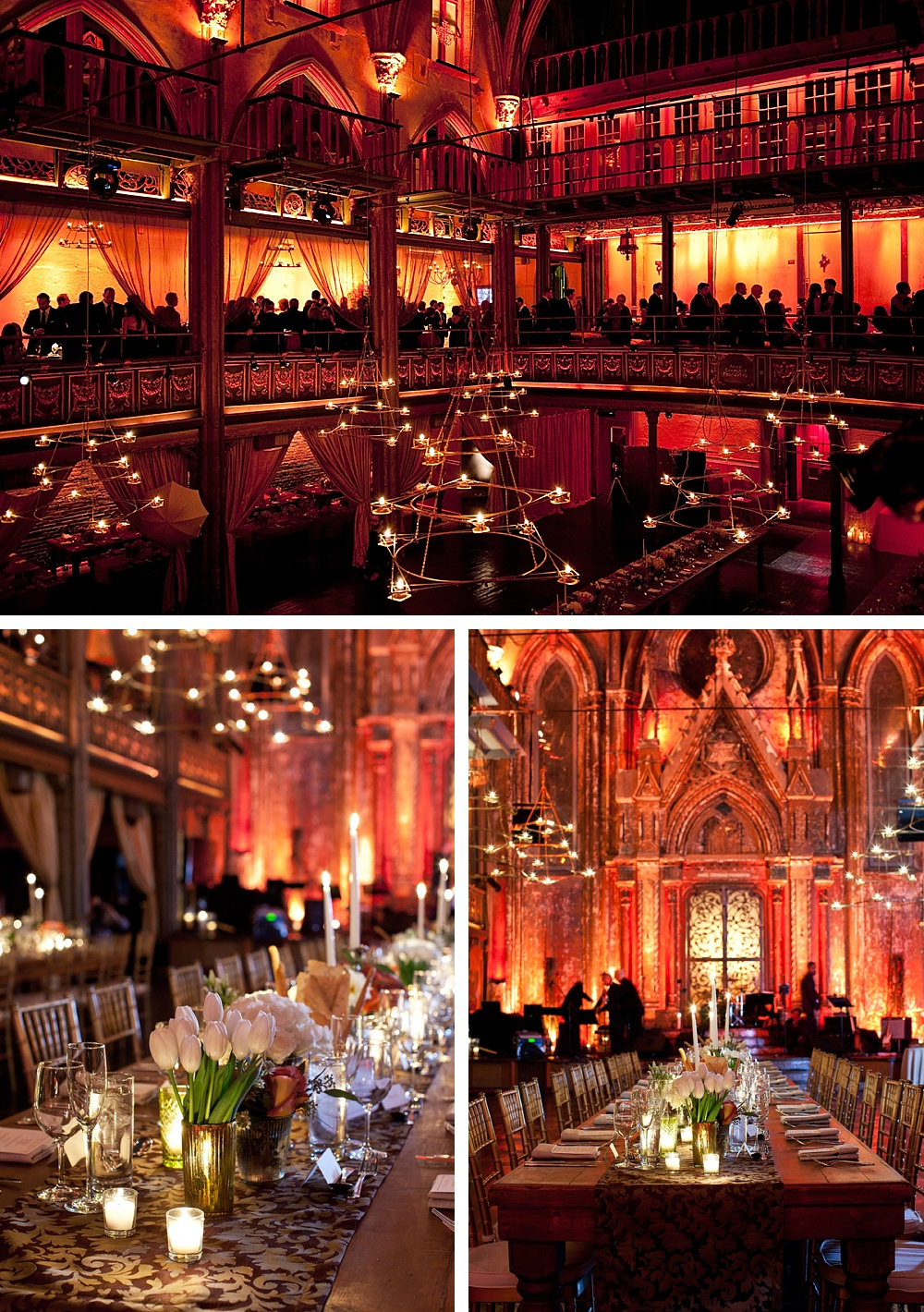 Autumn city rustic Jewish wedding at the spectacular Angel Orensanz Foundation, Lower East Side, New York City