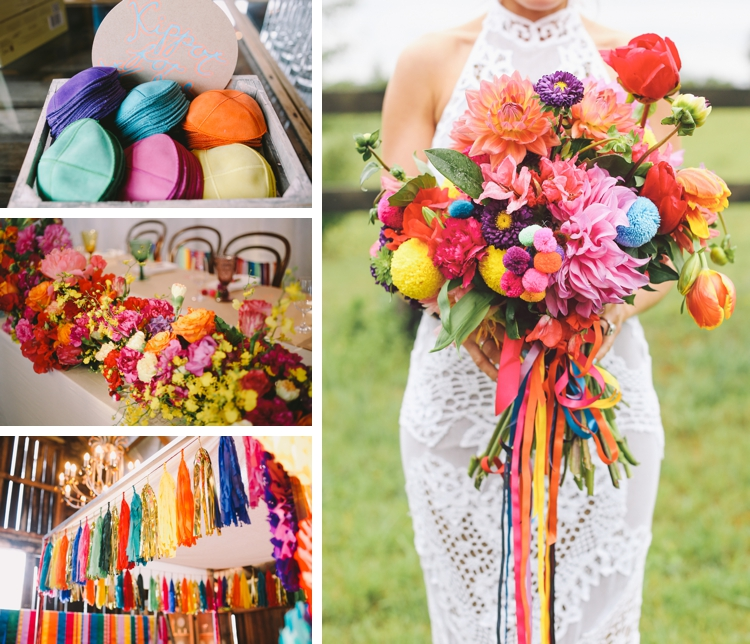 creative 'colour explosion' Jewish wedding at the Sydney Polo Club, NSW, Australia_0023