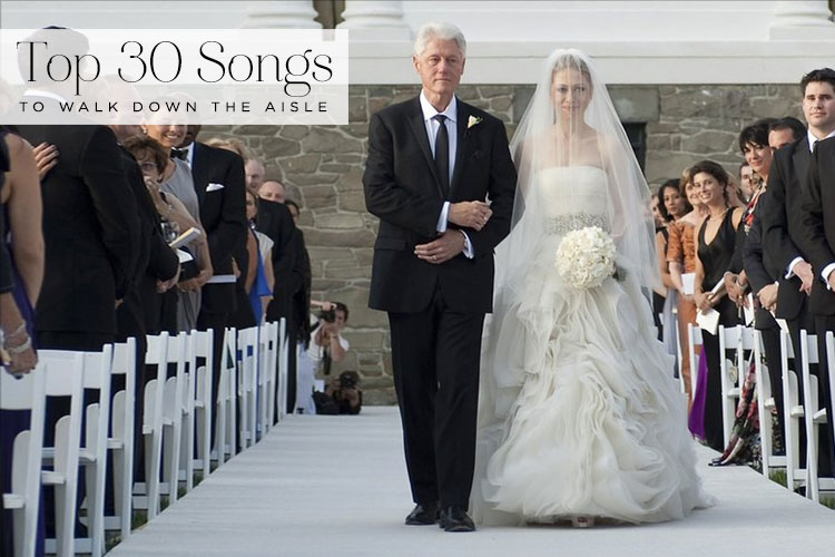 Top 30 Songs To Walk Down The Aisle To At A Jewish Wedding
