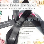 I'm speaking at 'Brides The Show' and to celebrate I'm giving away 20 pairs of tickets!
