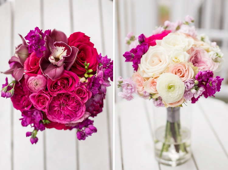 Super cute Jewish wedding, with pops of hot pink, on Lake Rosseau at J.W Marriott, Ontario, Canada