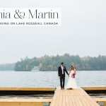 Alyshia & Martin | Super cute Jewish wedding, with pops of hot pink, on Lake Rosseau, Ontario, Canada