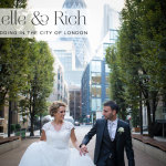 Rochelle & Rich | Classic White City Chic Jewish wedding at Devonshire Terrace, in the heart of the City of London, UK