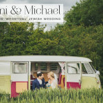 Naomi & Michael | free spirited 'Wedstival' Jewish wedding in a field in Epping Forest, Essex, UK