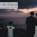 Karen & David | Elegant white Jewish wedding at Villa Giusso, Sorrento, Amalfi Coast, Italy