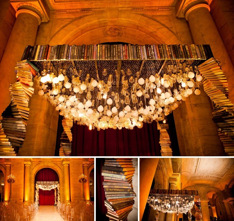 book-themed wedding at the New York Public Library_0024