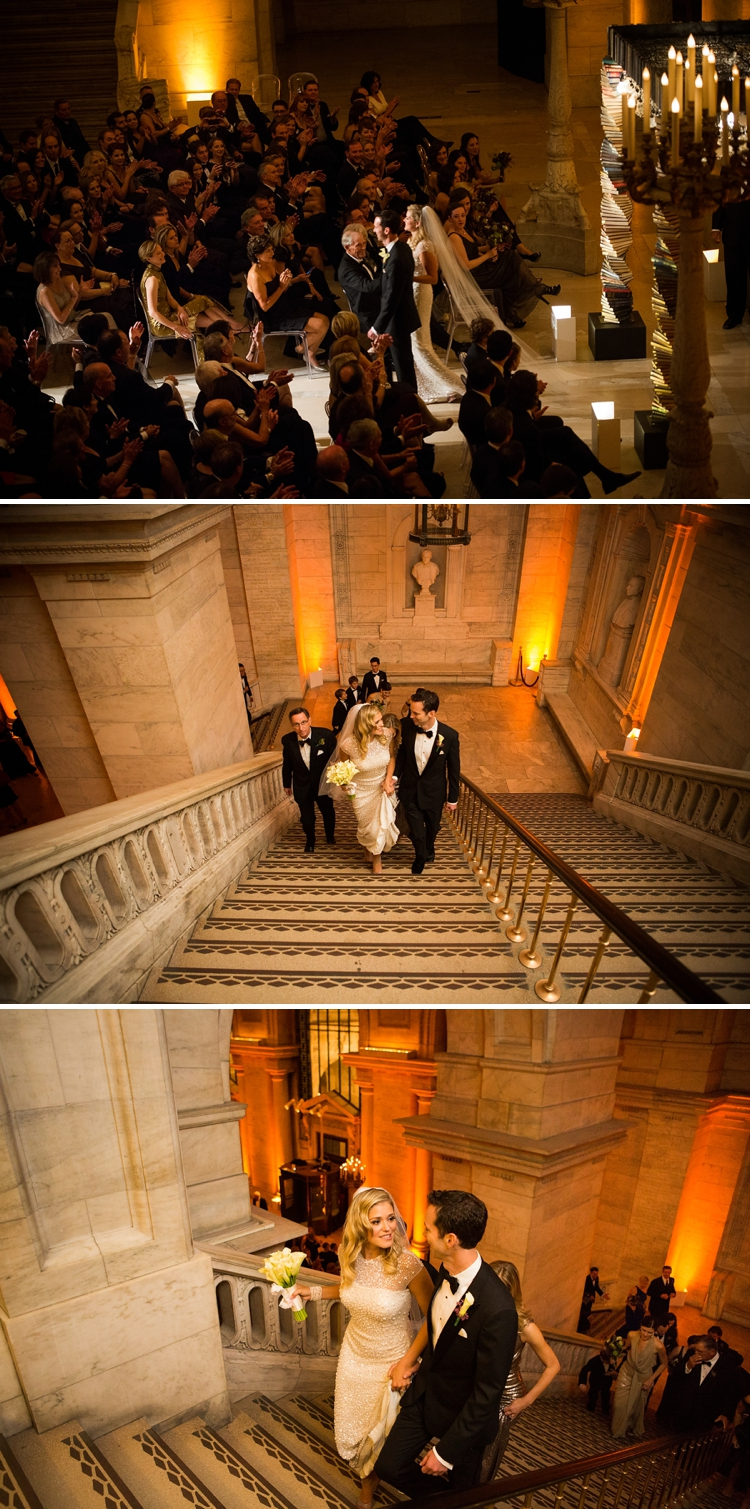 book-themed wedding at the New York Public Library_0034
