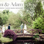 Naomi & Adam | country garden Jewish wedding in a tudor barn in Cheshire, North West England, UK