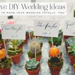 5 details to make your wedding totally 'YOU'… without breaking the bank