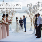 A Vera Wang bride for a spectacular rustic-glam Jew-ish destination wedding at a private villa in Phuket, Thailand