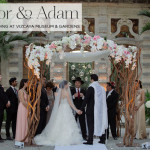 A lavish destination Jewish wedding at Vizcaya Museum & Gardens, Miami, Florida, USA