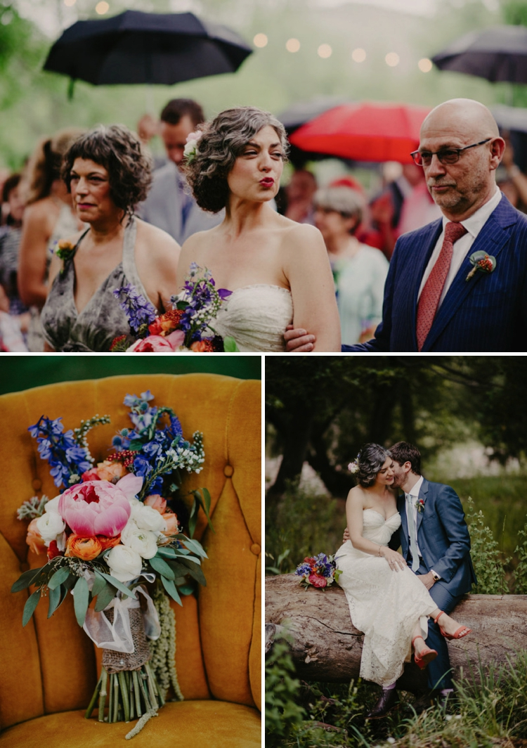 Bohemian DIY wedding