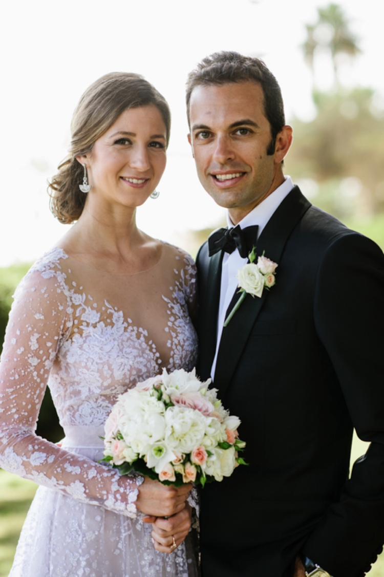 Mira Zwillinger bride for a destination Jewish Wedding from Marbella Spain