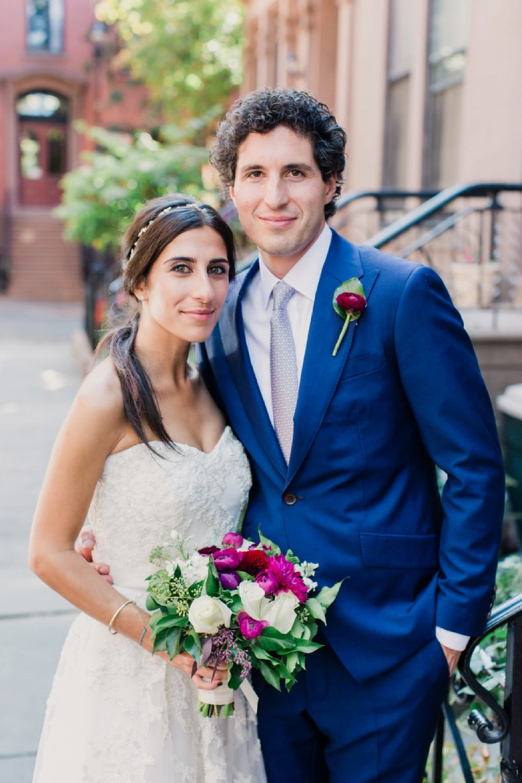 Jewish wedding at 632 on Hudson West Village New York