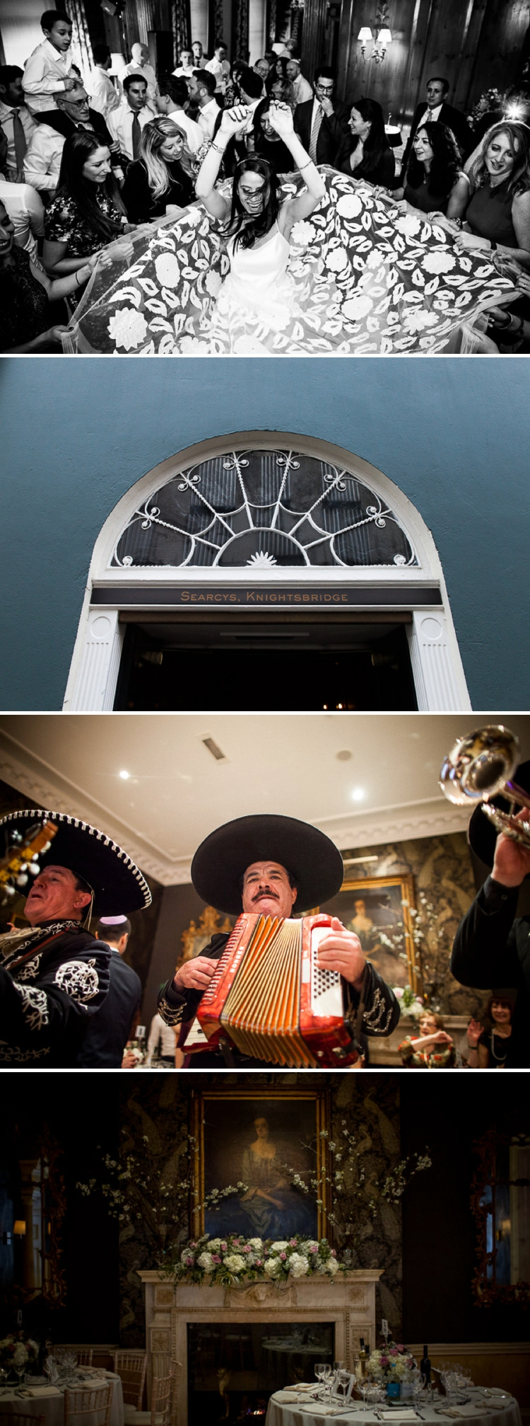 Mexican Jewish Wedding Searcys at 30 Pavilion Road