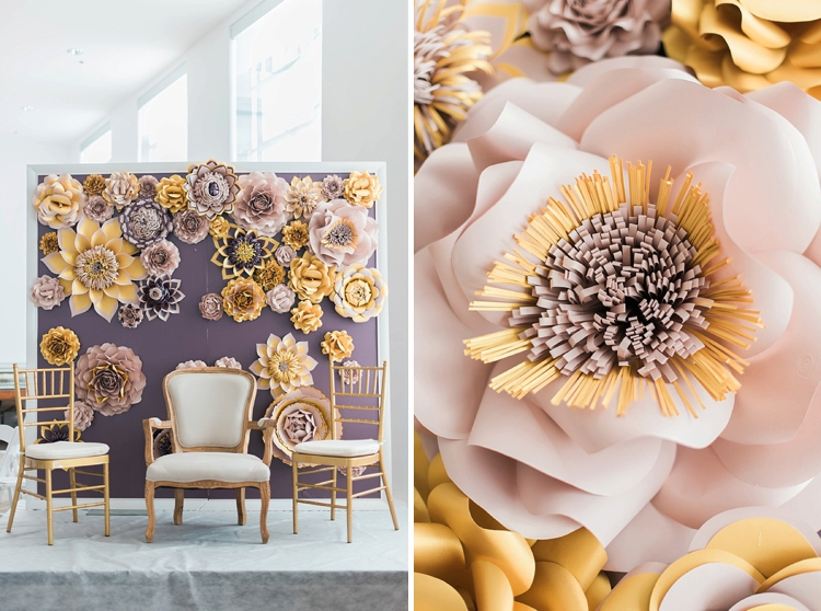 paper decor flowers