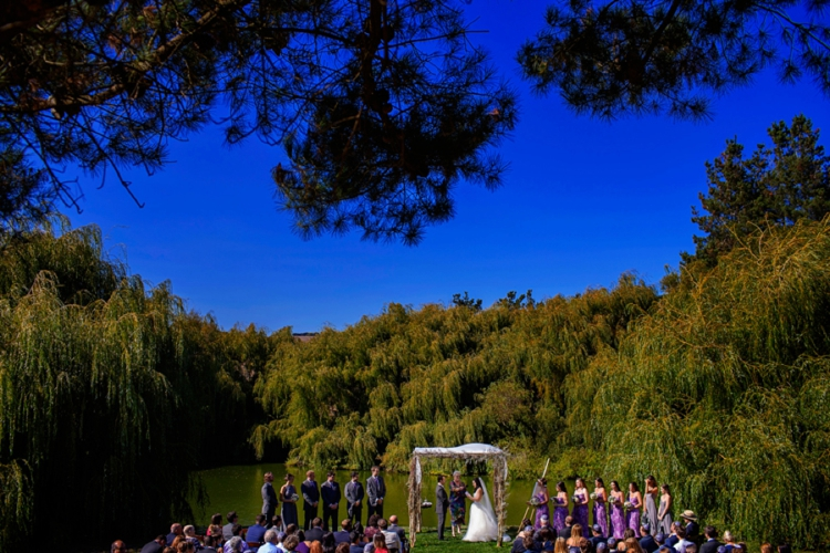 Jewish rustic wedding at Olympia's Valley Estate in Petaluma, California.