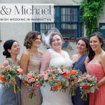 A colourful Jewish wedding at Manhattan Penthouse on Fifth Avenue, New York City, USA