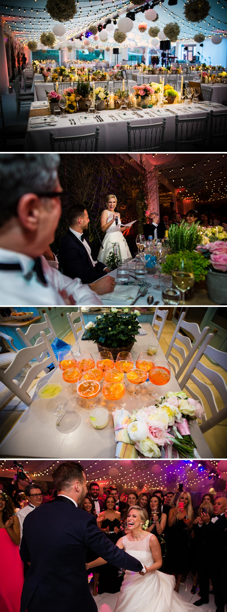 a ritva westenius bride for an italian garden themed wedding at