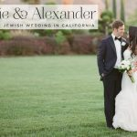 A Vera Wang bride for a romantic luxe destination Jewish wedding at the Four Seasons in Westlake Village, California