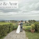 An Intimate Jewish wedding at Villa Mangiacane, Tuscany, Italy, with a Bespoke Gown by Inbal Raviv, the Bride's Sister