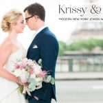 A New York-style Jewish wedding in Paris, with a customised Junko Yoshioka dress and stunning Louboutins