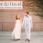 A Texas-meets-Jewish knees up wedding with pie on Pi Day at Hyatt Regency La Jolla, San Diego, California, USA