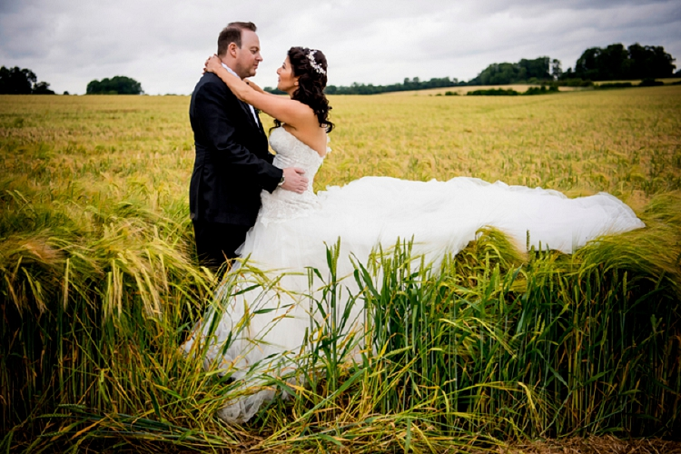 A Rustic Jewish Wedding With An Abundance Of Flowers And A Sophia Tolli Dress At Soho Farmhouse