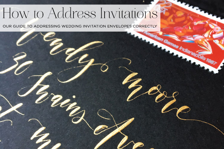 this is a guest post by jo bryant a wedding etiquette specialist - Wedding Invitation Address Etiquette