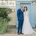A whimsical woodland Jewish wedding with a Jenny Packham gown at South Farm, Royston, UK