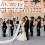 A Jew-ish fairy princess garden wedding with an Allure gown at Old Red Museum, Dallas, Texas, USA
