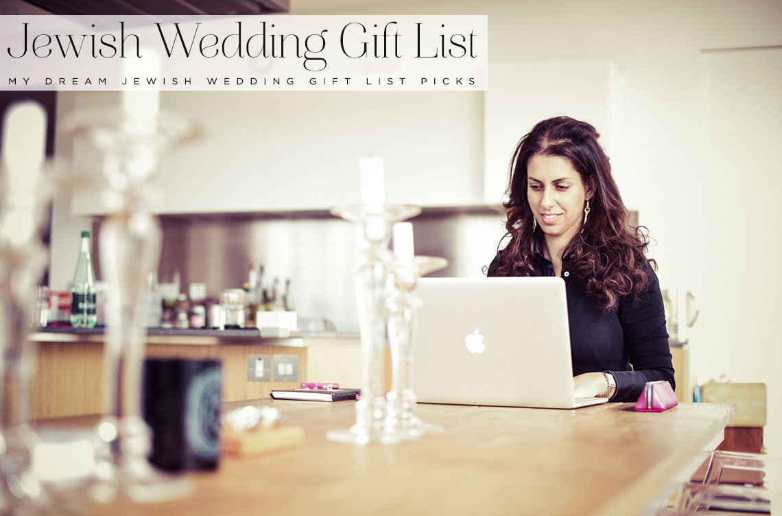 Jewish Wedding Gift List : Jewish Wedding Gift List with Prezola - Smashing the Glass Jewish ...