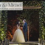 A Tuscany-meets-Israel floral Jewish wedding with a Vera Wang bride at Baya'ar, Israel