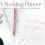 Win one of five Wedding Planning Notebooks from Blush & Gold