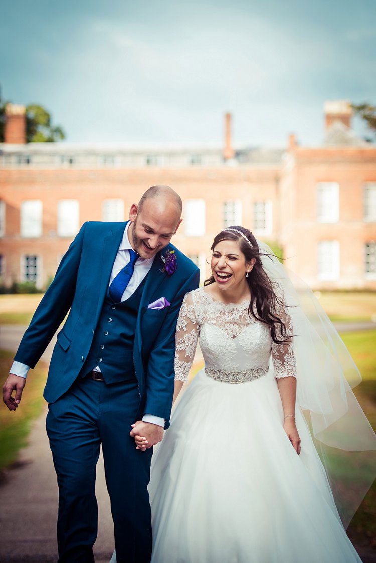 A Rosh Hashanah Themed Jewish Wedding With A Suzanne Neville Bride At Braxted Park Essex UK