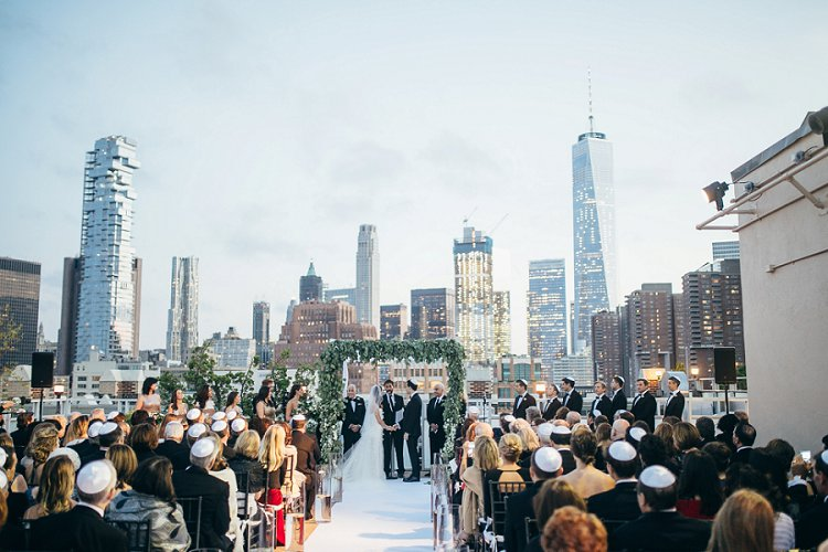 Jewish Wedding Tribeca Rooftop NYC New York USA_0060