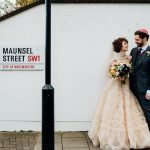 A Cute and Quirky Springtime Jewish Wedding With a Blush Watters Gown at Royal Horticultural Halls, London UK